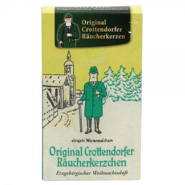 Crottendorfer-Räucherkerzen Erzgebirgischer Weihnachtsduft Nostalgie 6 x 2 x 11 cm