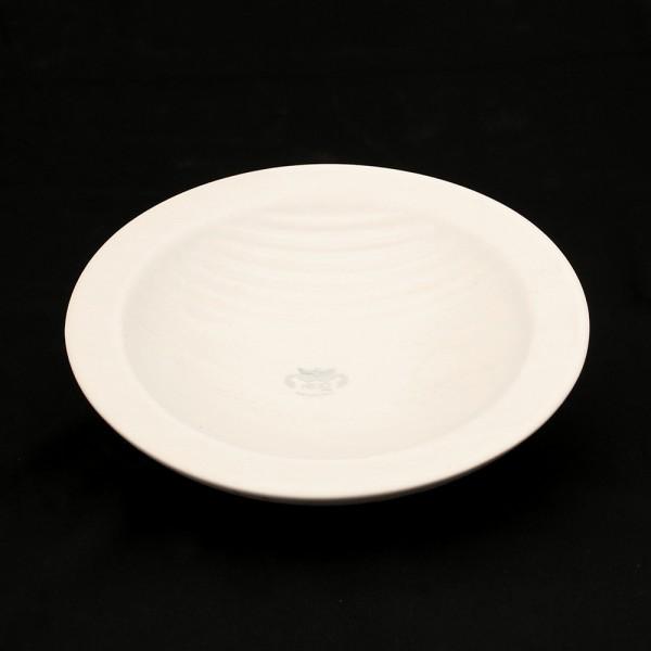 Keramik Schale Linea, Weiß 24 x 24 x 5 cm