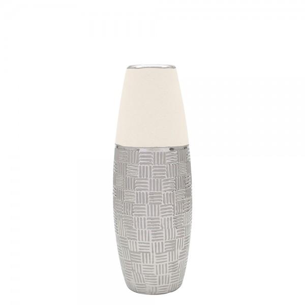 Keramik Vase Bali lang 13 x 12,5 x 37 cm