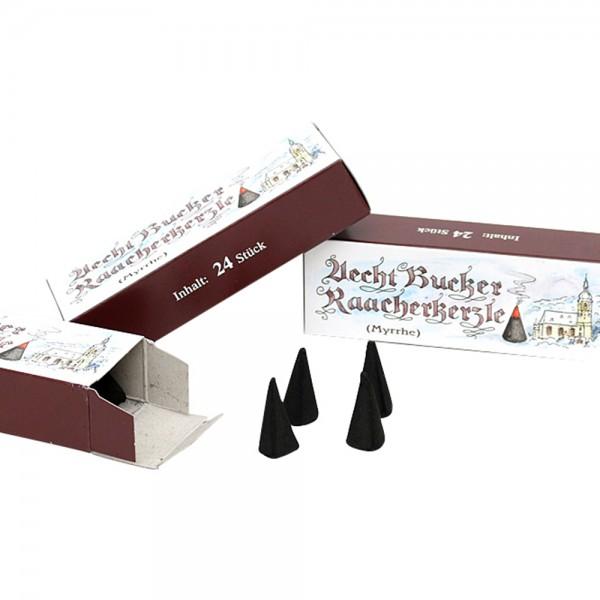 Echt Bucker-Räucherkerzen (3x1,5x1,5cm) Myrrhe 12 x 2,7 x 4,3 cm