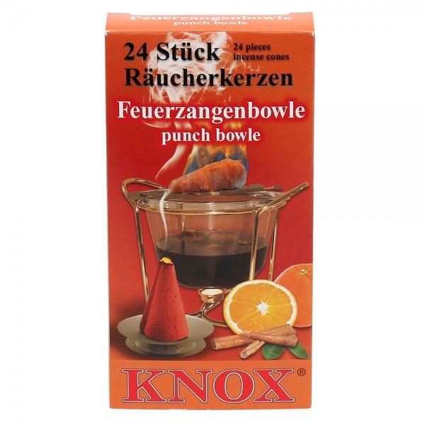 KNOX-Räucherkerzen Feuerzangenbowle 6,5 x 2,2 x 12,5 cm