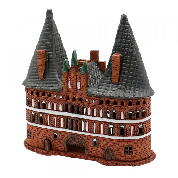 Keramik Licht-Duftölhaus (in Schornstein) Lübecker Tor 17 x 8 x 17 cm