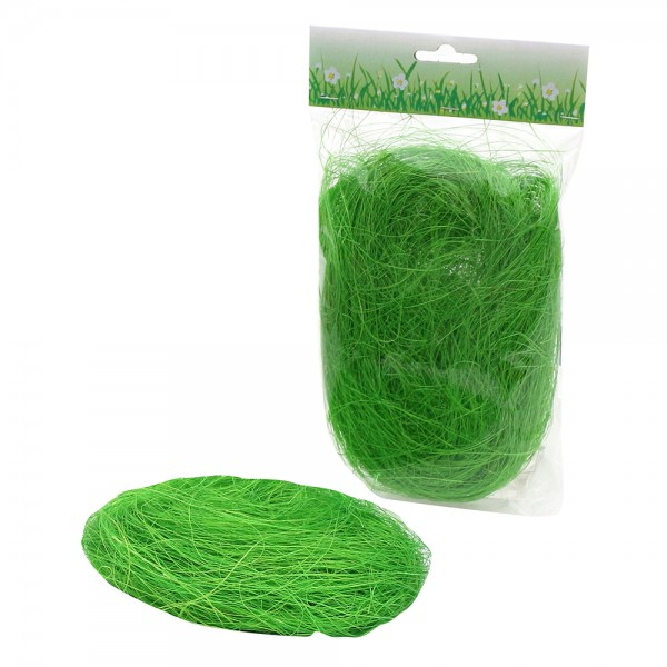 Kunststoff Ostergras 20 g Beutel, grün