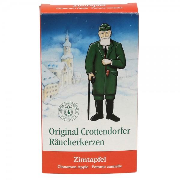 Crottendorfer-Räucherkerzen Zimtapfel 6 x 2 x 11 cm