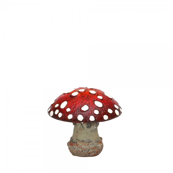 Keramik Fliegenpilz 9,4 x 9,4 x 8,6 cm