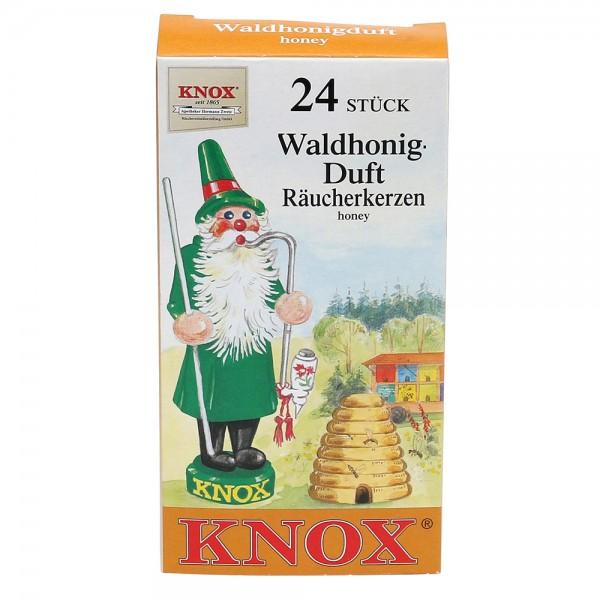 KNOX-Räucherkerzen Waldhonig 6,5 x 2,2 x 12,5 cm