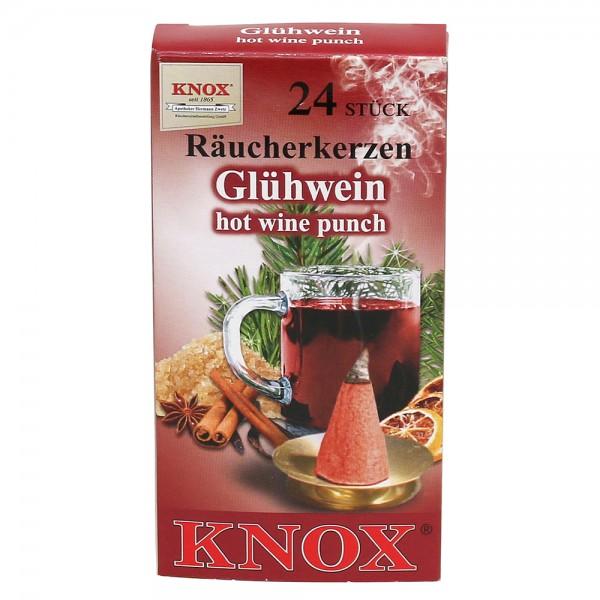 KNOX-Räucherkerzen Glühwein 6,5 x 2,2 x 12,5 cm