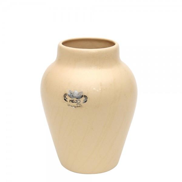 Keramik Vase Clip, Champagner 10,5 x 10,5 x 17 cm