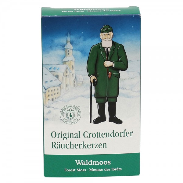 Crottendorfer-Räucherkerzen Waldmoos 6 x 2 x 11 cm