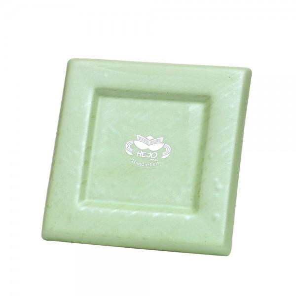 Keramik Kerzenplatte, SAVA 12,5 x 12,5 x 1,5 cm