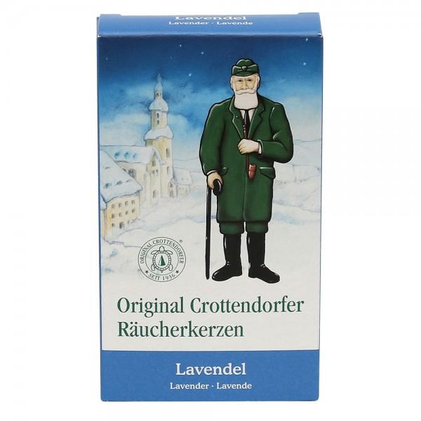 Crottendorfer-Räucherkerzen Lavendel 6 x 2 x 11 cm