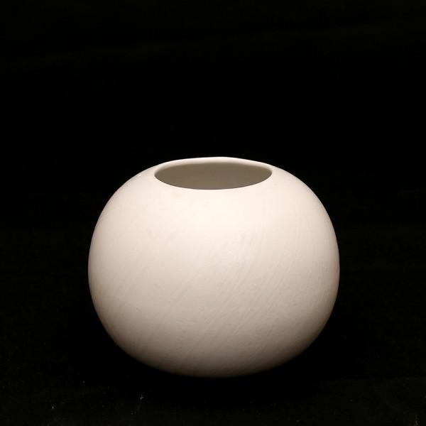 Keramik Vase Orion, Weiß 13 x 13 x 10,5 cm