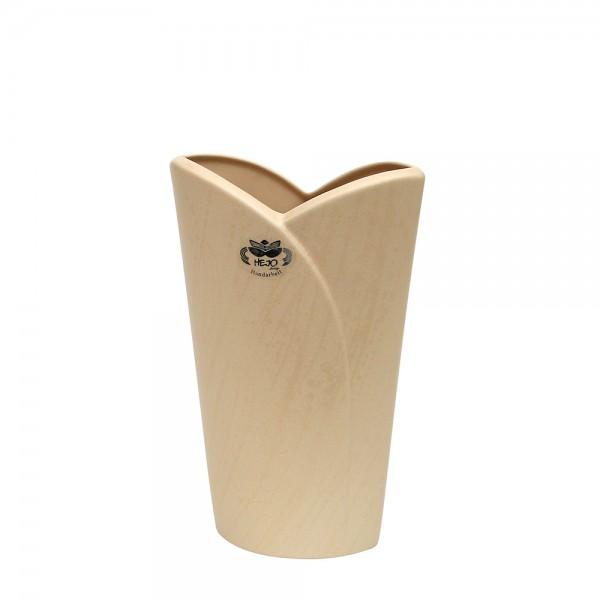 Keramik Vase Riva, Champagner 15 x 7 x 22,5 cm