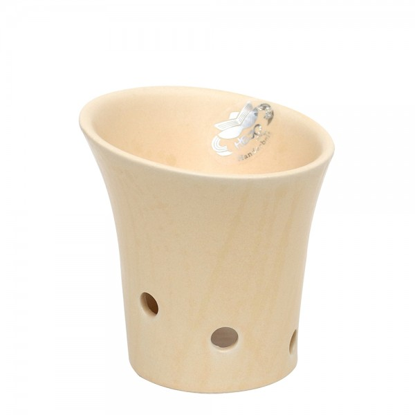 Keramik Duftlampe, Champagner 10,5 x 10,5 x 11 cm