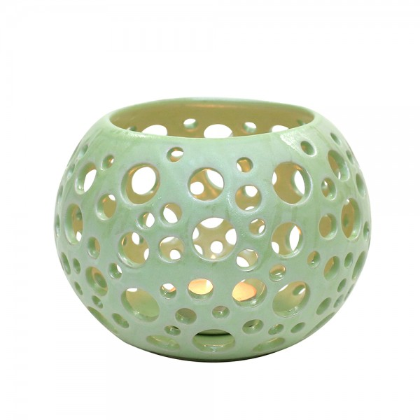 Keramik Leuchter Orion, SAVA 15 x 13 x 10,5 cm
