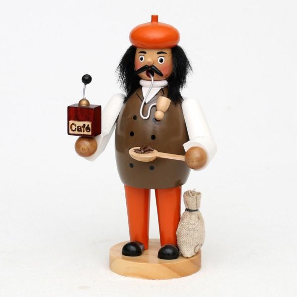 Holz Räuchermann Kaffeemann mit Mühle 11 x 8 x 20 cm