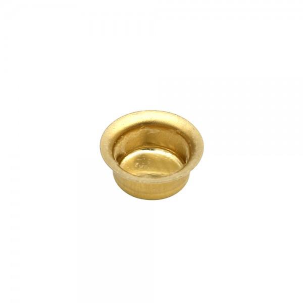 Messing Tüllen 10er (413) 1,4 x 1,4 x 0,6 cm