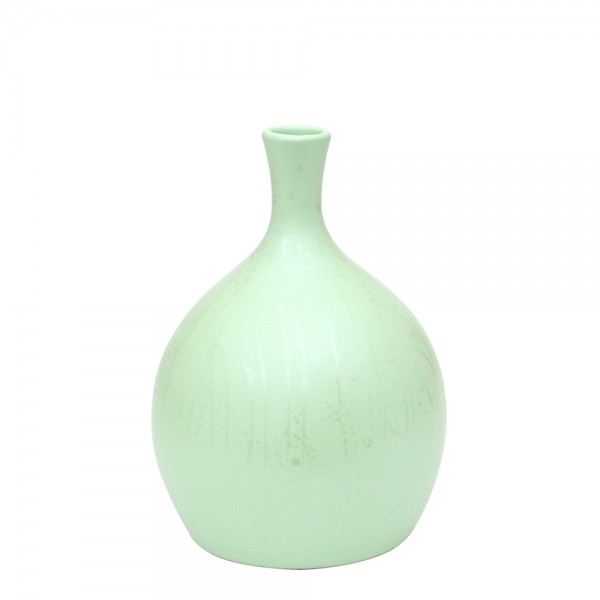 Keramik Vase Linea dick, SAVA 18 x 18 x 26 cm