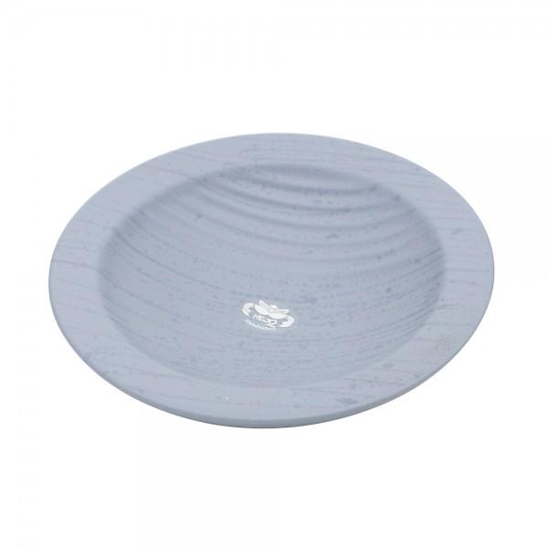 Keramik Schale Linea, Grau 24 x 24 x 5 cm