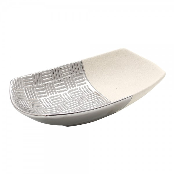 Keramik Schale Bali 27 x 5,5 x 6 cm