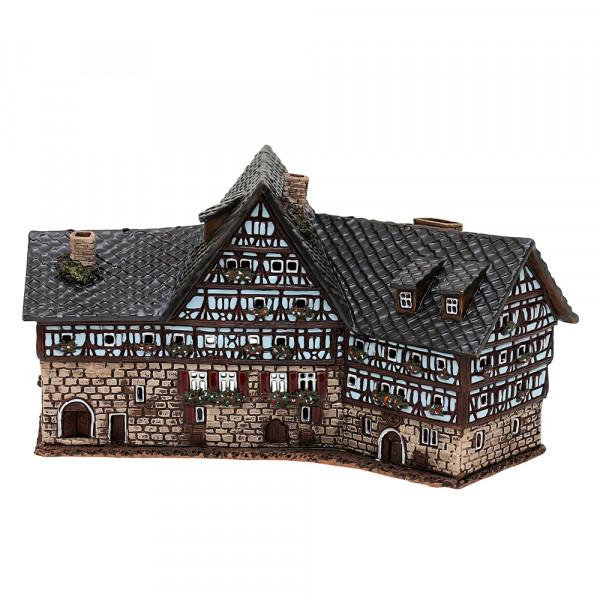 Keramik Licht-Duftölhaus (in Schornstein) Speyer Zehnthof Esslingen 30 x 15 x 15 cm
