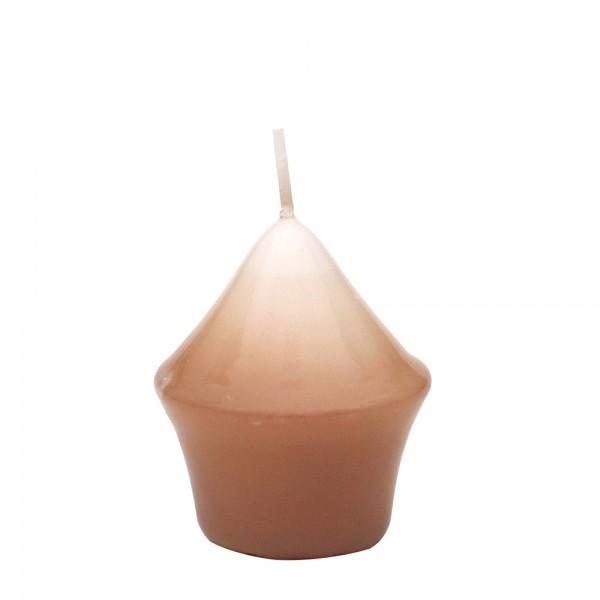 Miniturm, Cappuccino gelackt 5,5 x 5,5 x 7,5 cm