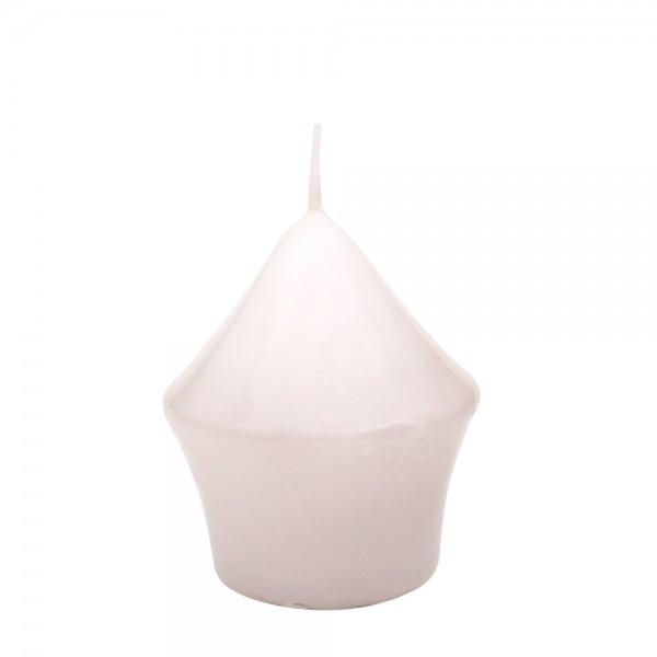 Miniturm, Weiß gelackt 5,5 x 5,5 x 7,5 cm