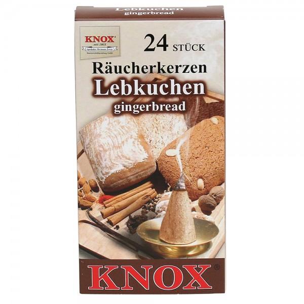 KNOX-Räucherkerzen Lebkuchen 6,5 x 2,2 x 12,5 cm