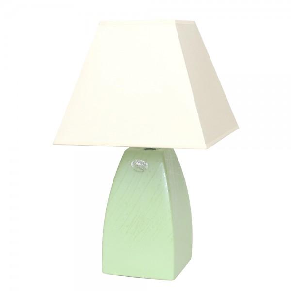 Keramik Tischlampe Tulip (Leuchtmittel nicht enthalten), SAVA 25 x 25 x 43 cm 230 V Kabel, E27