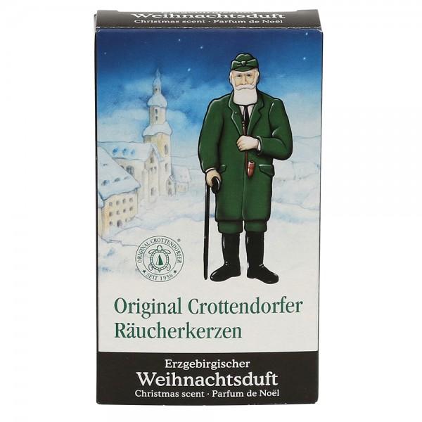 Crottendorfer-Räucherkerzen Erzgebirgischer Weihnachtsduft 6 x 2 x 11 cm