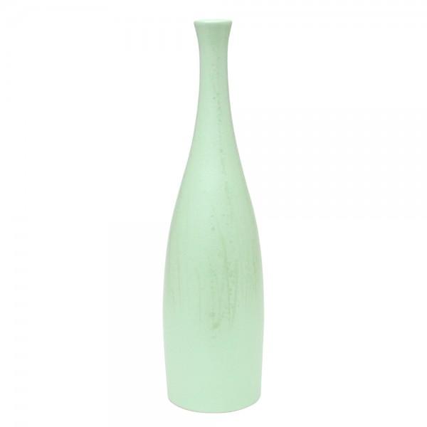 Keramik Vase Flasche, SAVA 11 x 11 x 43 cm