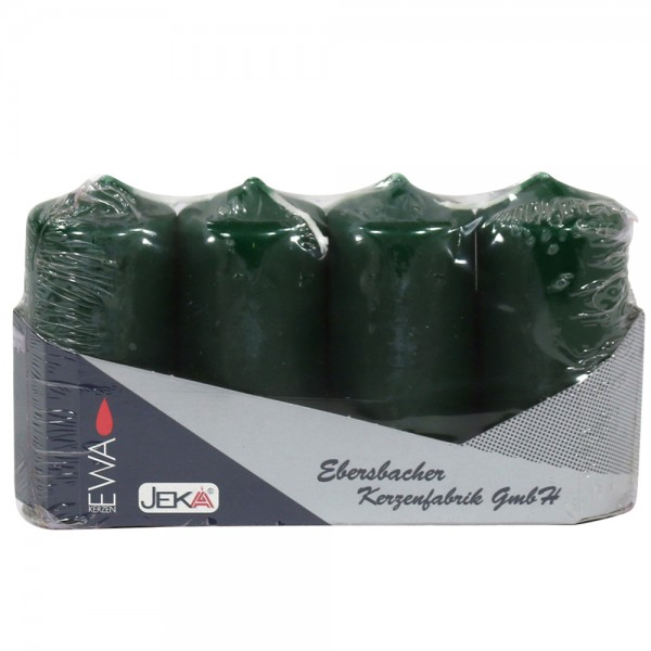 4er Set Stumpentray 4-40-90, tannengrün 4 x 4 x 9 cm