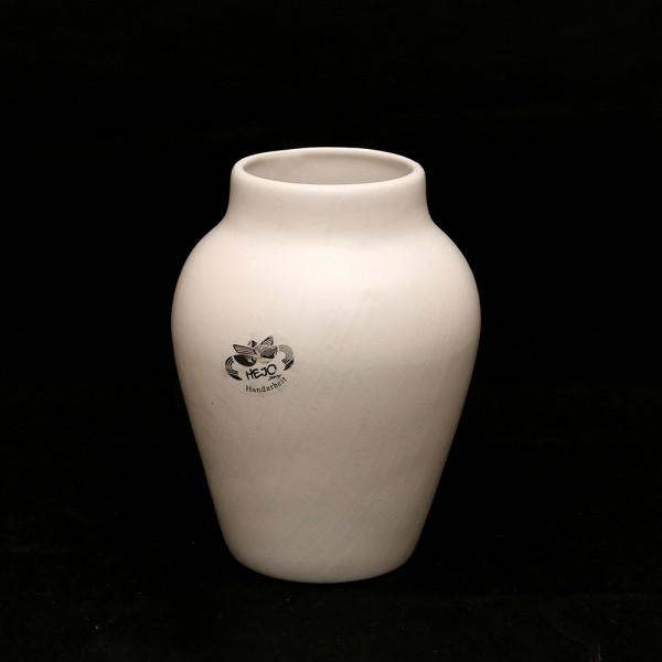 Keramik Vase Clip, Weiß 12 x 12 x 16,5 cm