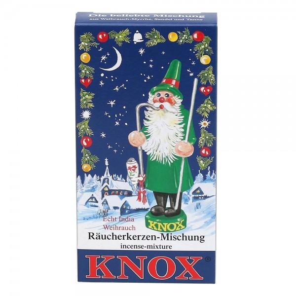 KNOX-Räucherkerzen Mischung Weihrauch/Tanne/Sandel 6,5 x 2,2 x 12,5 cm