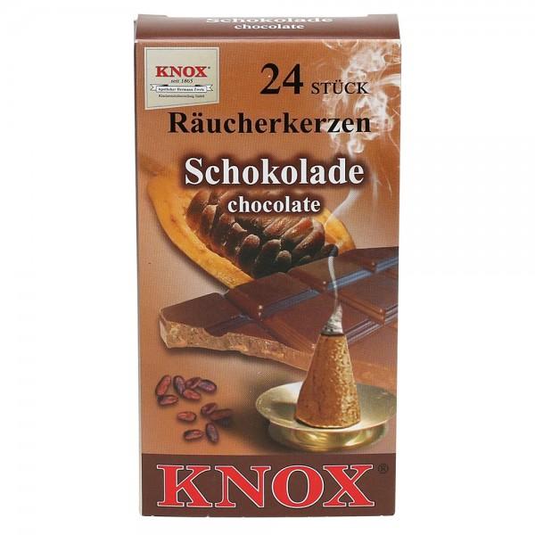 KNOX-Räucherkerzen Schokolade 6,5 x 2,2 x 12,5 cm