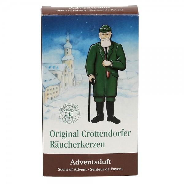Crottendorfer-Räucherkerzen Adventsduft 6 x 2 x 11 cm