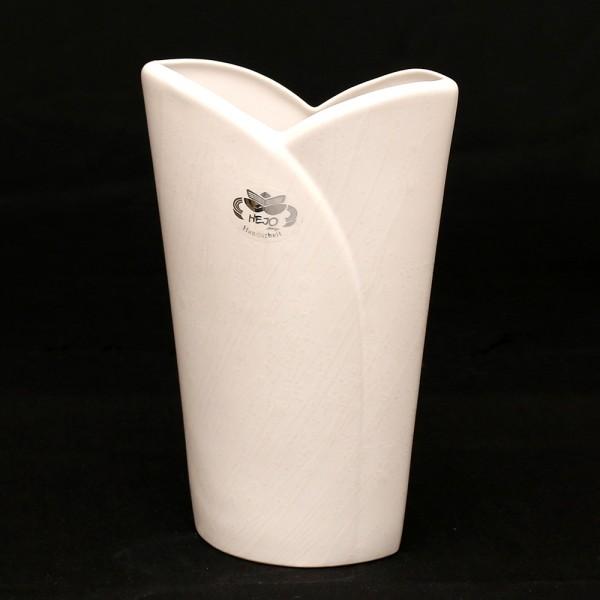 Keramik Vase Riva, Weiß 20 x 9 x 34 cm