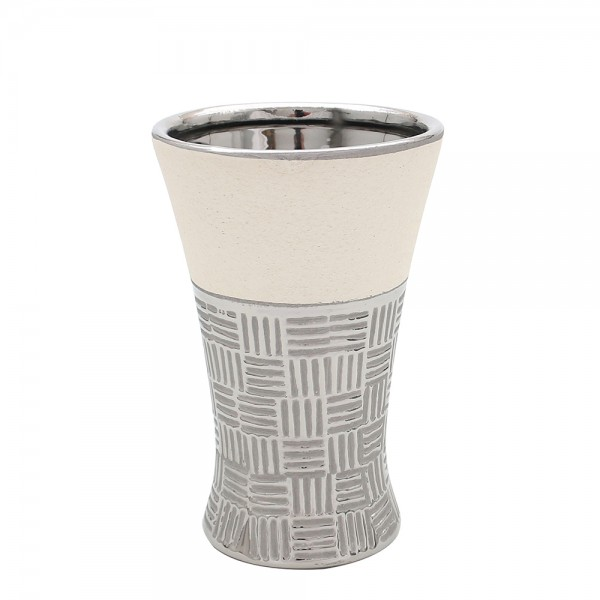 Keramik Vase Bali Tulpe 13 x 12,5 x 20 cm