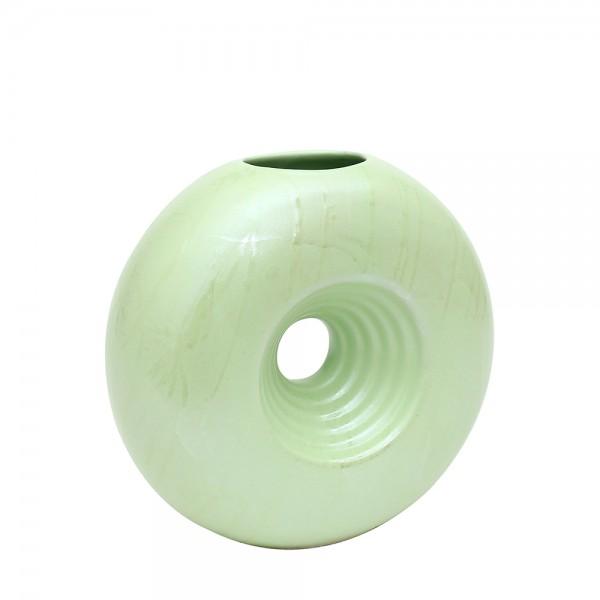 Keramik Vase Saturn, SAVA 18,5 x 7,5 x 16,5 cm