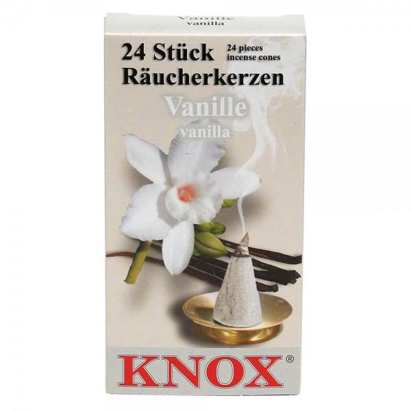 KNOX-Räucherkerzen Vanille 6,5 x 2,2 x 12,5 cm