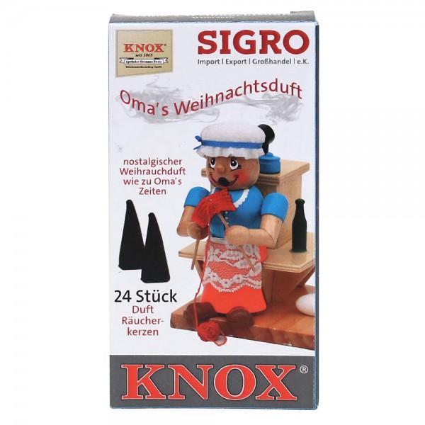 KNOX-Räucherkerzen Omas Weihnachtsduft nostalgischer Weihrauchduft, wie zu Omas Zeiten 6,5 x 2,2 x 12,5 cm