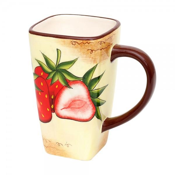 Dolomite Kaffee-Pot Erdbeere groß 14 x 9 x 14,5 cm