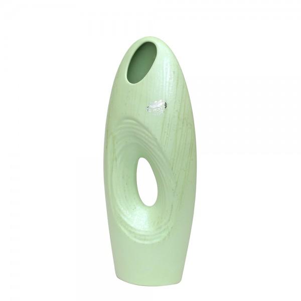 Keramik Vase Sina schmal, SAVA 16 x 7 x 38 cm