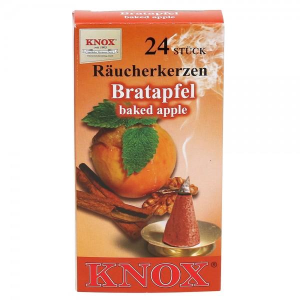 KNOX-Räucherkerzen Bratapfel 6,5 x 2,2 x 12,5 cm