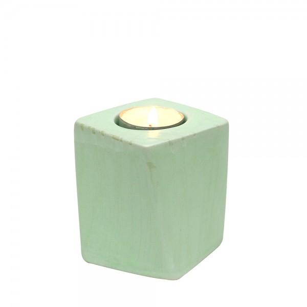 Keramik Kerzenhalter Samba, SAVA 7 x 7 x 8,5 cm