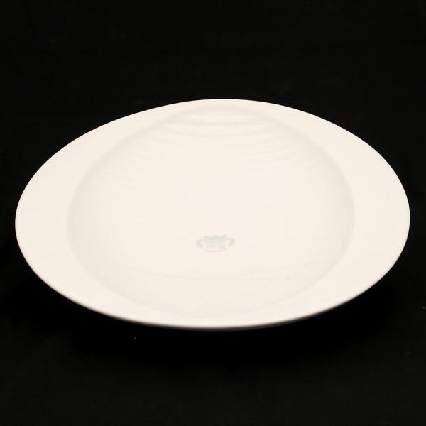 Keramik Schale Linea, Weiß 29 x 28,5 x 4,5 cm