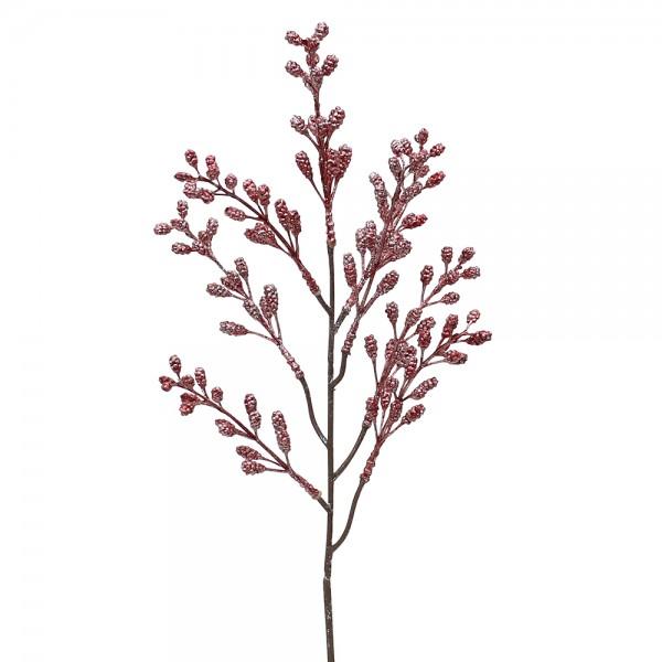 Kunststoff Willow buds red ca. 13 x 5 x 45 cm