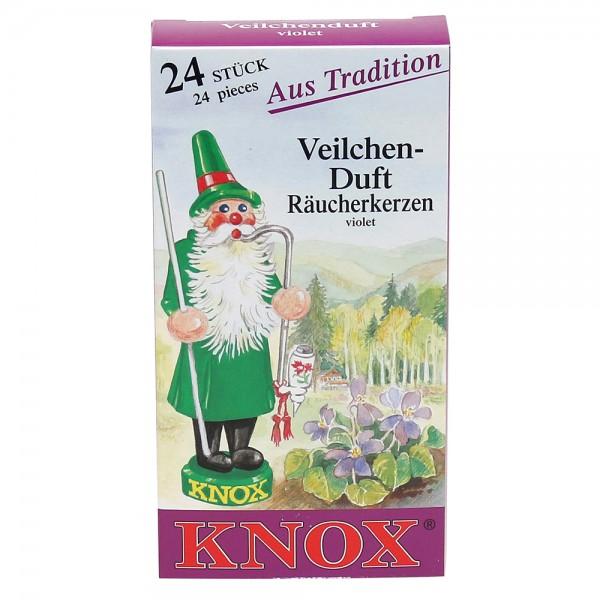 KNOX-Räucherkerzen Veilchen 6,5 x 2,2 x 12,5 cm