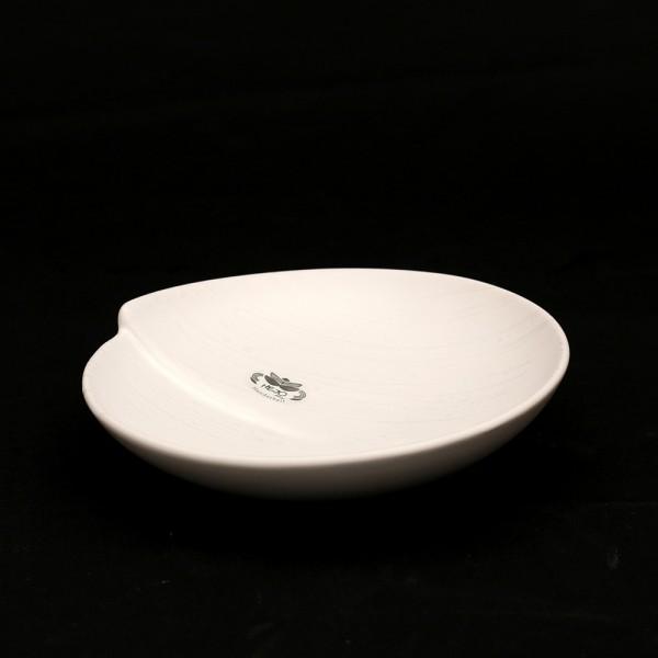 Keramik Schale Bali, Weiß 23 x 23 x 5,5 cm