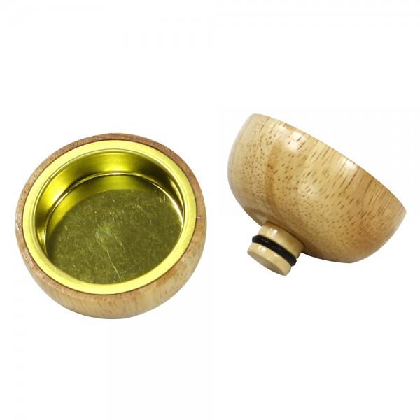 Holz Teelichthalter Pyramidenaufsatz Premium 5 x 5 x 3,5 cm